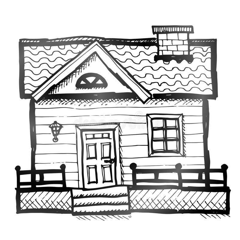 Домик и дом картинки нарисованные - красивые и прикольные 15