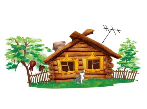 Домик и дом картинки нарисованные - красивые и прикольные 8