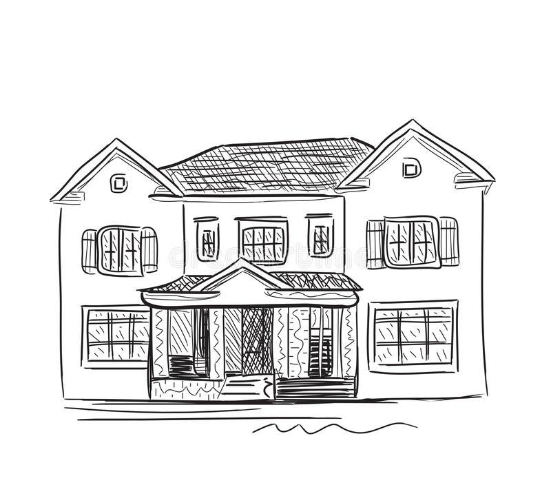Домик и дом картинки нарисованные - красивые и прикольные 9