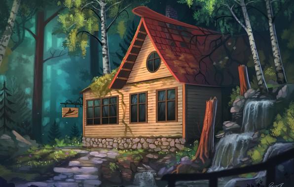 Дом, квартира, домик - красивые картинки для детей 20