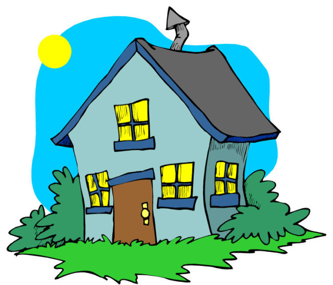 Дом, квартира, домик - красивые картинки для детей 21