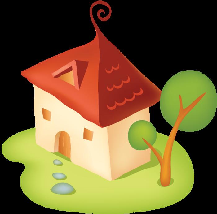 Дом, квартира, домик - красивые картинки для детей 24