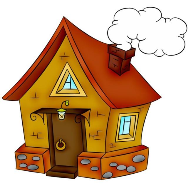 Дом, квартира, домик - красивые картинки для детей 3