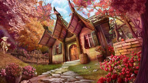 Дом, квартира, домик - красивые картинки для детей 6