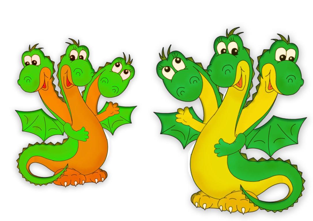Змей Горыныч картинки для детей - прикольные и красивые 12