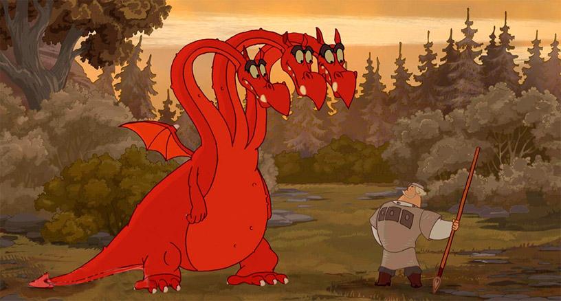 Змей Горыныч картинки для детей - прикольные и красивые 6