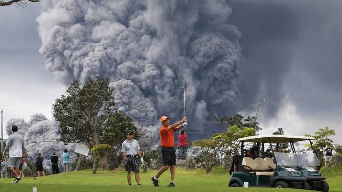 Извержение вулкана, землетрясения, лава - красивые снимки и фото 21