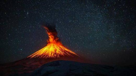 Извержение вулкана, землетрясения, лава - красивые снимки и фото 6
