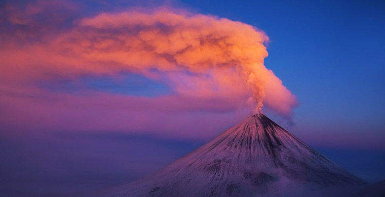 Извержение вулкана, землетрясения, лава - красивые снимки и фото 9