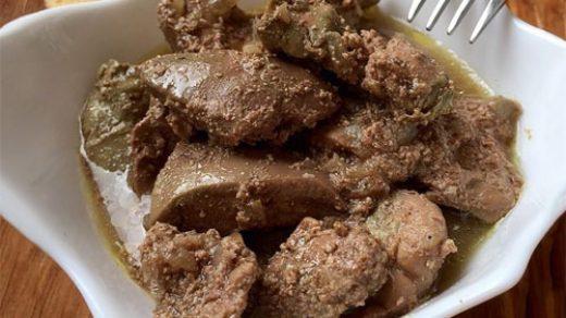 Как приготовить ароматную печень индейки в пивном соусе - рецепт 1