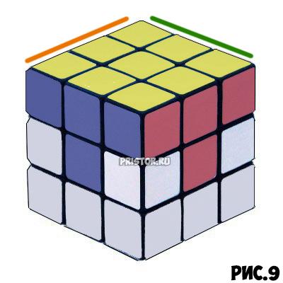 Как собрать Кубик Рубика 3х3 для начинающих - схема с фото, алгоритм 17