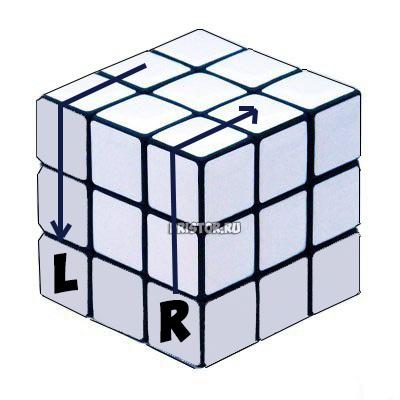Как собрать Кубик Рубика 3х3 для начинающих - схема с фото, алгоритм 5