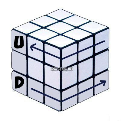 Как собрать Кубик Рубика 3х3 для начинающих - схема с фото, алгоритм 6