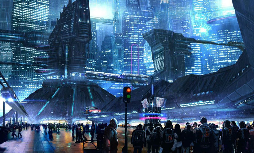 Картинки будущего города или город будущего - лучшие АРТы 1