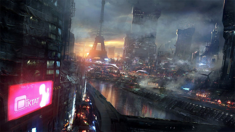 Картинки будущего города или город будущего - лучшие АРТы 10