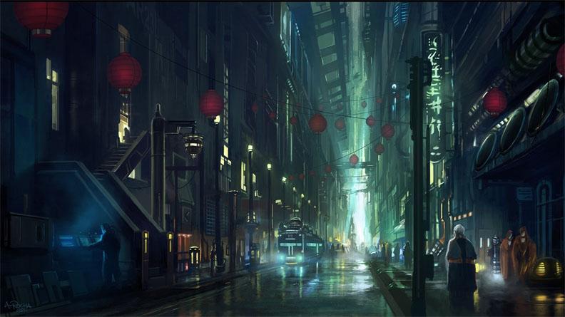 Картинки будущего города или город будущего - лучшие АРТы 11