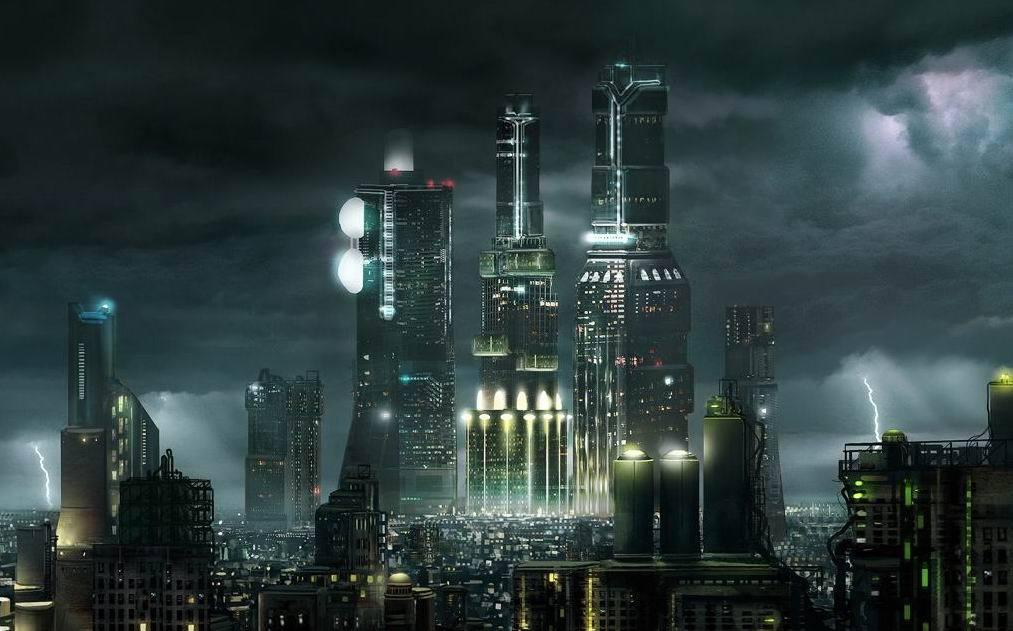Картинки будущего города или город будущего - лучшие АРТы 4