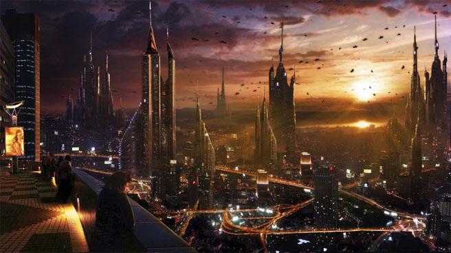 Картинки будущего города или город будущего - лучшие АРТы 6