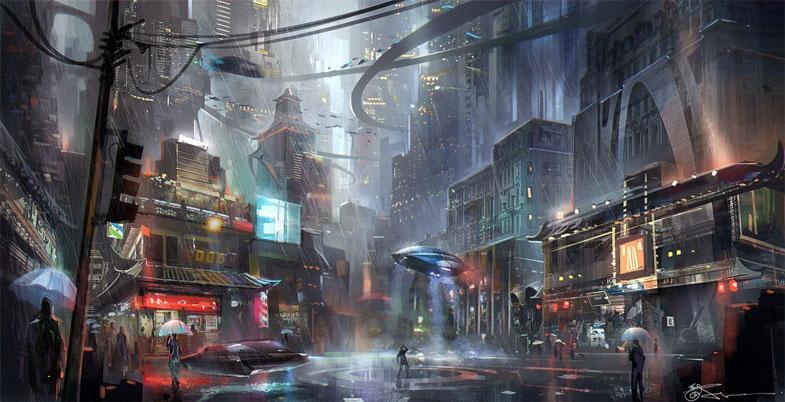 Картинки будущего города или город будущего - лучшие АРТы 8
