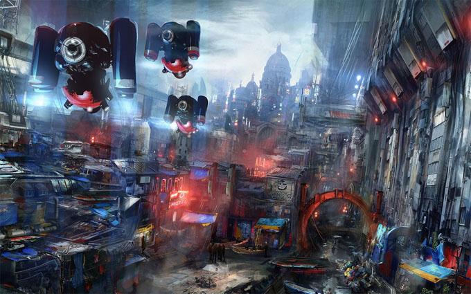 Картинки будущего города или город будущего - лучшие АРТы 9