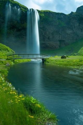 Картинки на телефон водопады и водопад - самые красивые 2
