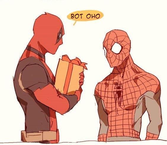 Комиксы про Человека Паука - самые прикольные 11