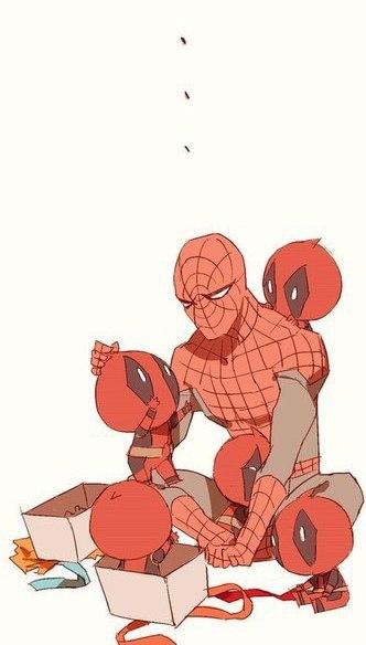 Комиксы про Человека Паука - самые прикольные 16