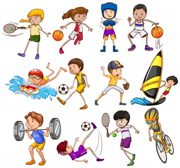 Красивые картинки для детей на тему Виды спорта - лучшая подборка 3