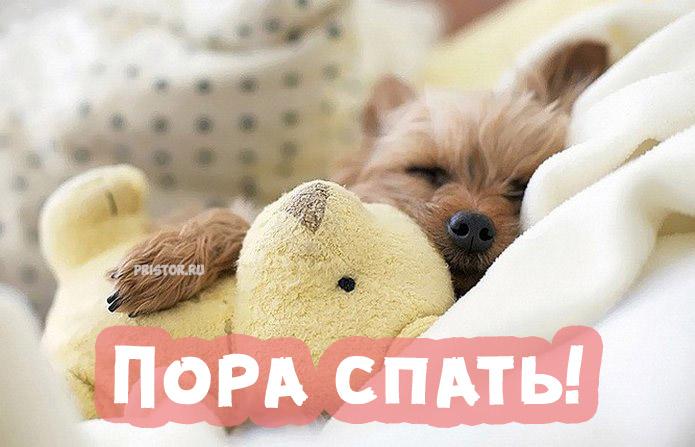 Красивые картинки и открытки Пора спать - для близкого человека 2
