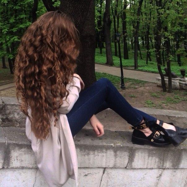 Красивые картинки на аву волосы со спины - лучшая сборка 15