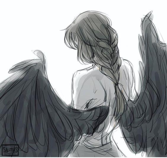 Красивые картинки на аву человек или ангел с крыльями - сборка 1