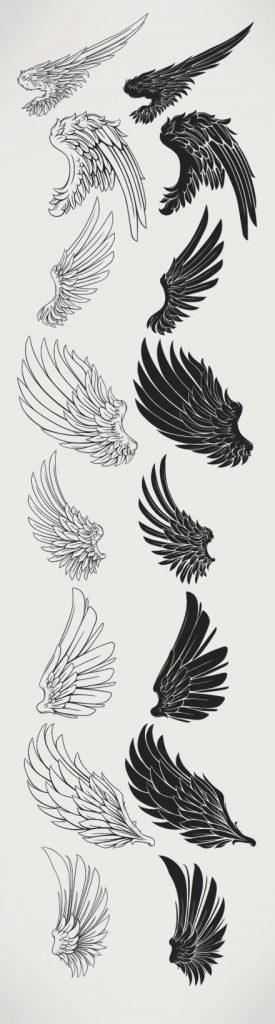 Красивые картинки на аву человек или ангел с крыльями - сборка 10