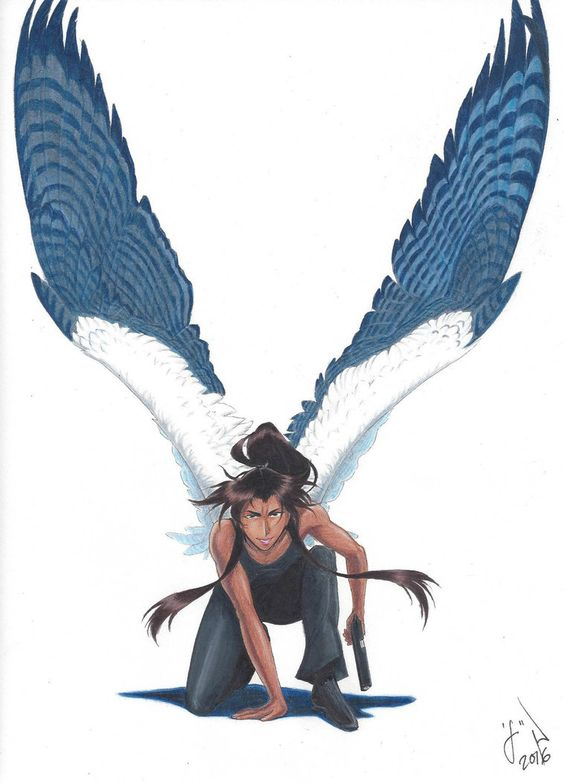 Красивые картинки на аву человек или ангел с крыльями - сборка 11