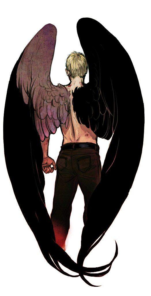Красивые картинки на аву человек или ангел с крыльями - сборка 15