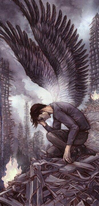 Красивые картинки на аву человек или ангел с крыльями - сборка 22