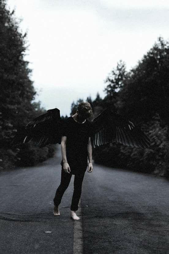 Красивые картинки на аву человек или ангел с крыльями - сборка 4