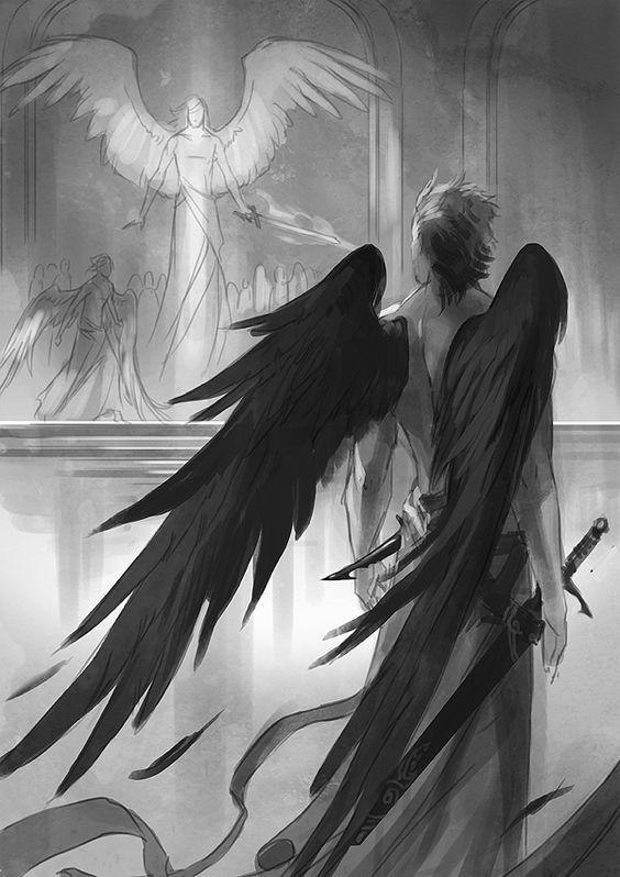 Красивые картинки на аву человек или ангел с крыльями - сборка 5