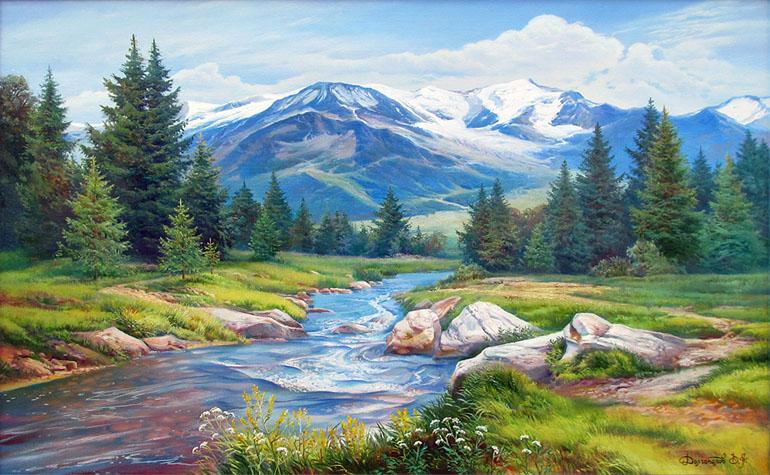 Красивые картинки реки для детей - увлекательная сборка 1