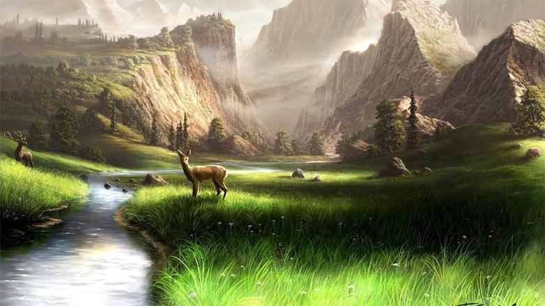 Красивые картинки реки для детей - увлекательная сборка 13