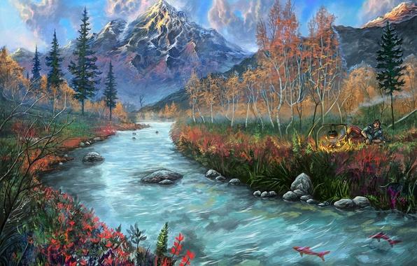 Красивые картинки реки для детей - увлекательная сборка 15