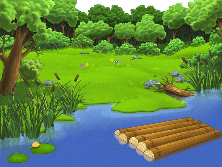 Красивые картинки реки для детей - увлекательная сборка 2