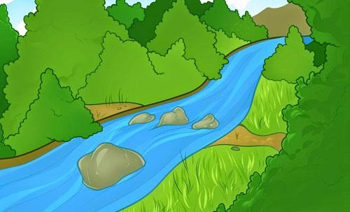 Красивые картинки реки для детей - увлекательная сборка 8