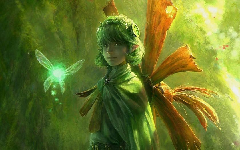 Красивые картинки эльфы и феи - загадочная коллекция 11