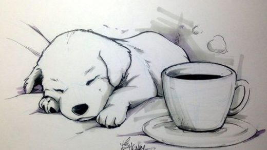 Очень красивые картинки для срисовки - подборка рисунков 4