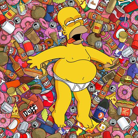 Прикольные и классные картинки на аву Симпсоны - коллекция 2018 9