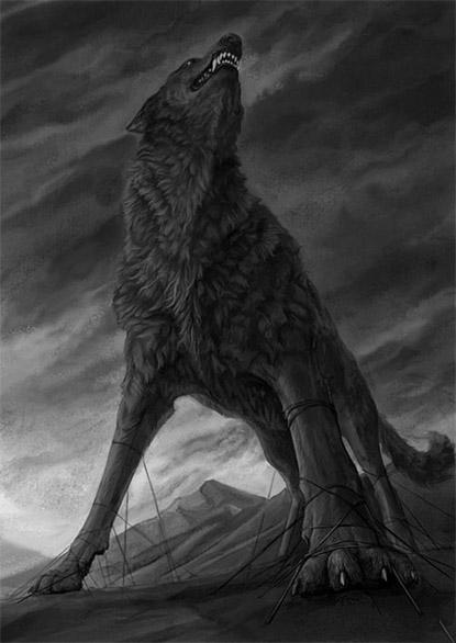Прикольные и красивые арт картинки волка. Нарисованный волк, фэнтези 19