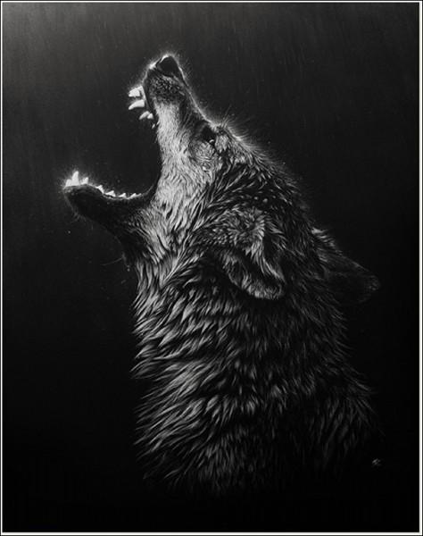 Прикольные и красивые арт картинки волка. Нарисованный волк, фэнтези 2
