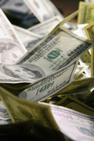 Прикольные и крутые картинки денег для заставки телефона - подборка 9