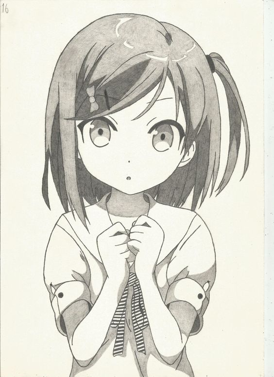 Рисованные аниме картинки - лучшая красивая подборка 4