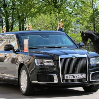 Российский лимузин для Путина - внешний вид, характеристики автомобиля 1